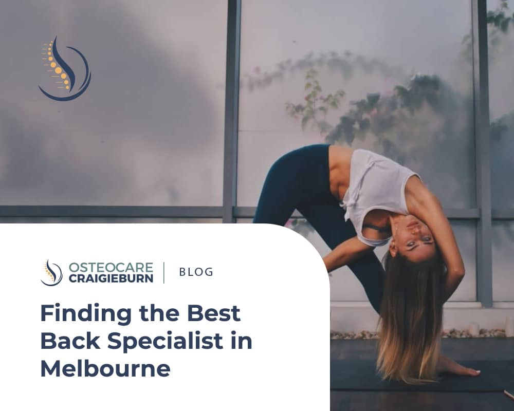 Finding the Best Back Specialist in Melbourne
