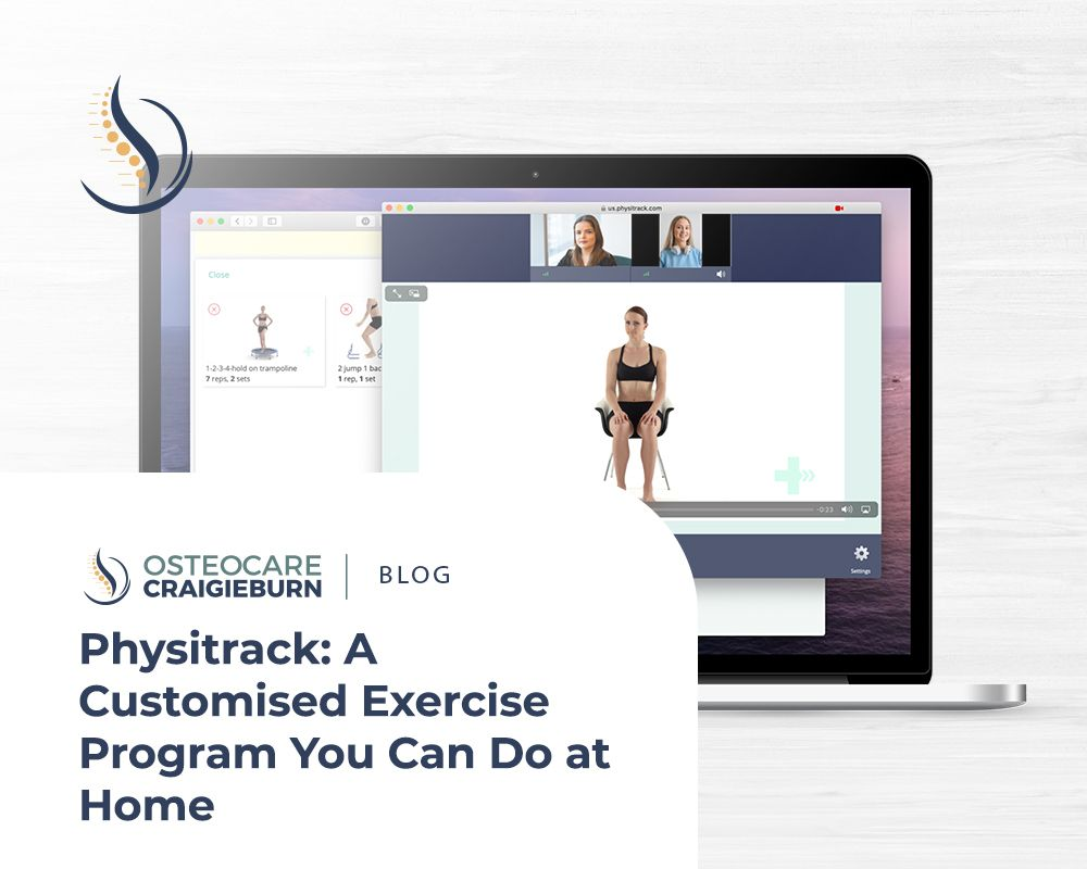 Physitrack: A Customised Exercise Program You Can Do at Home