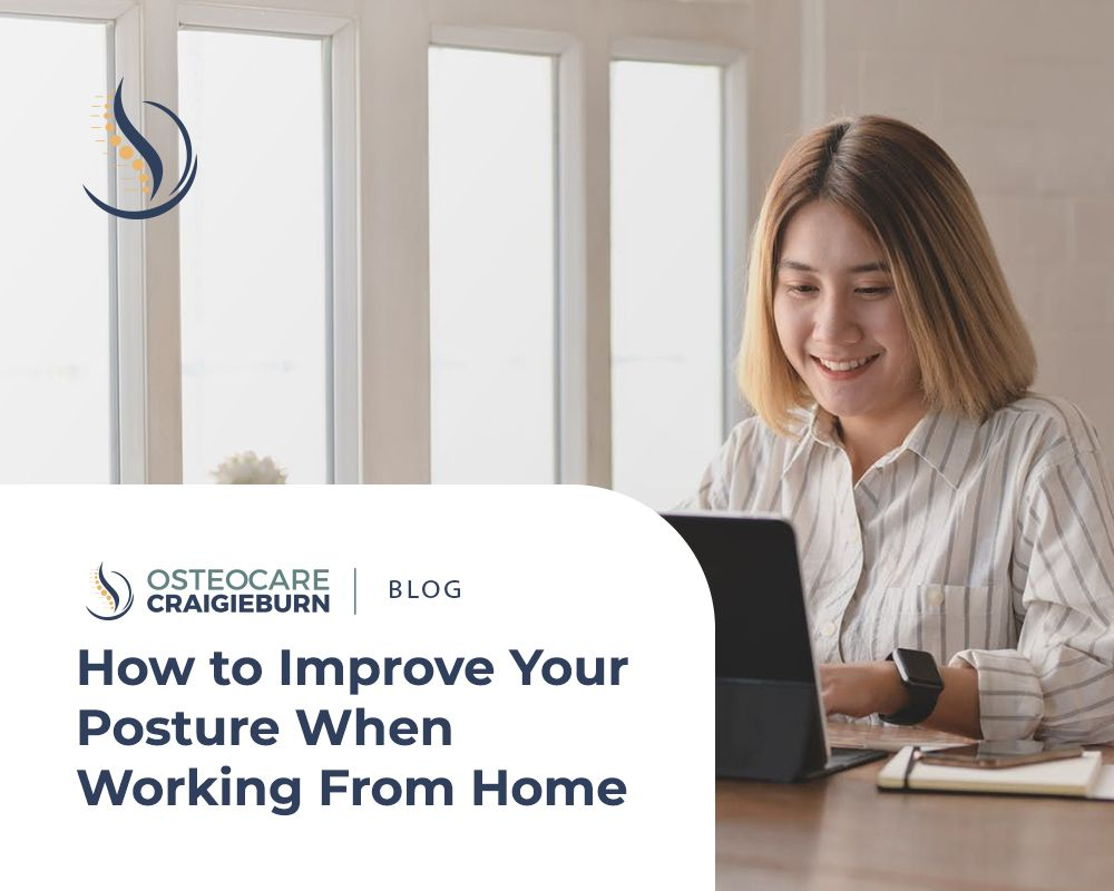 How to Improve Your Posture When Working From Home